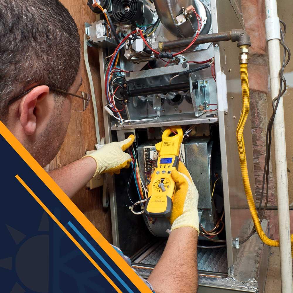 handyman-repairman-conducting-residential-HVAC-repair-Jeb-Air-houston-tx